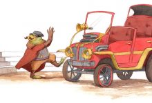 Toad's Latest Motor Vehicle