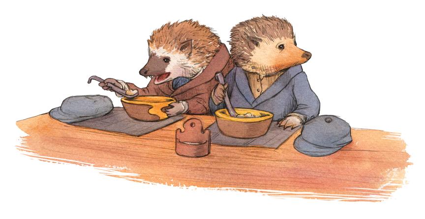 3hedgehogs