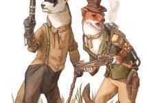 Steampunk Weasels
